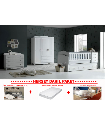 Defne Bebek Odası Komple Set !