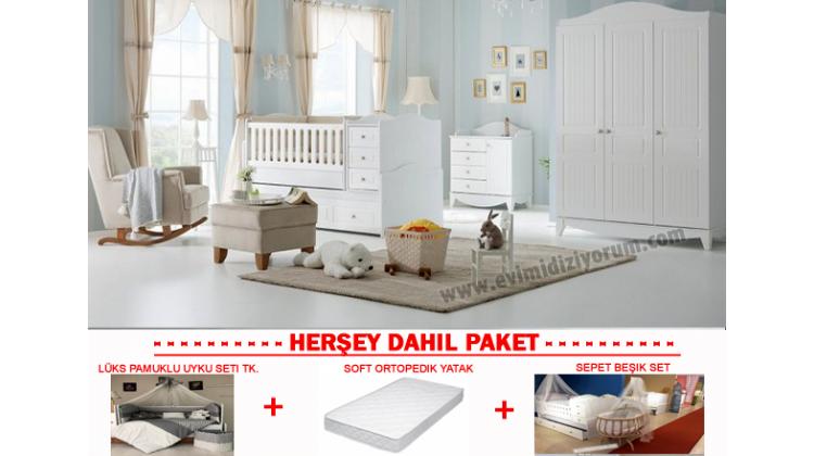 Dolce Bebek Odası Komple Set !